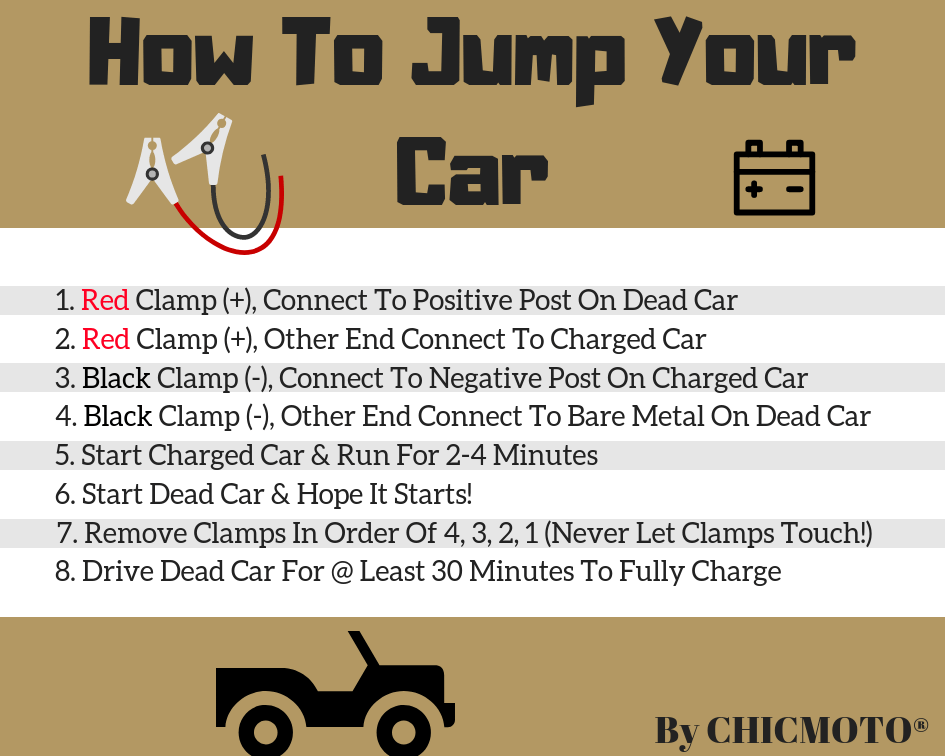 how to jump your car