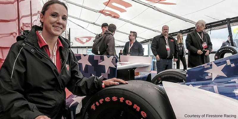 cara adams racing tire