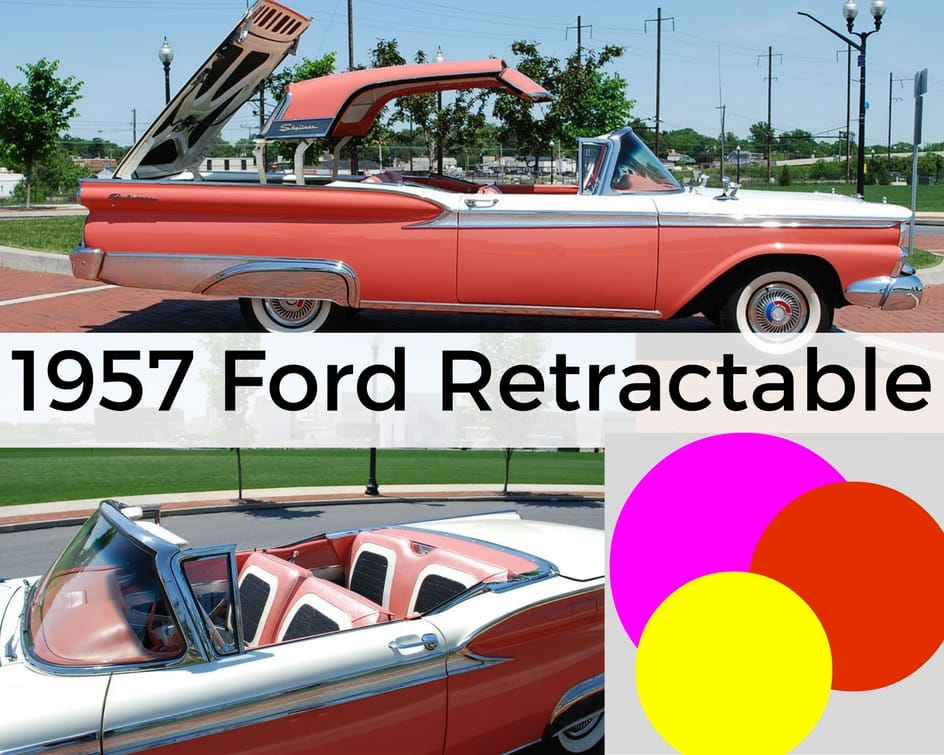 Classic Car Ford Retractable