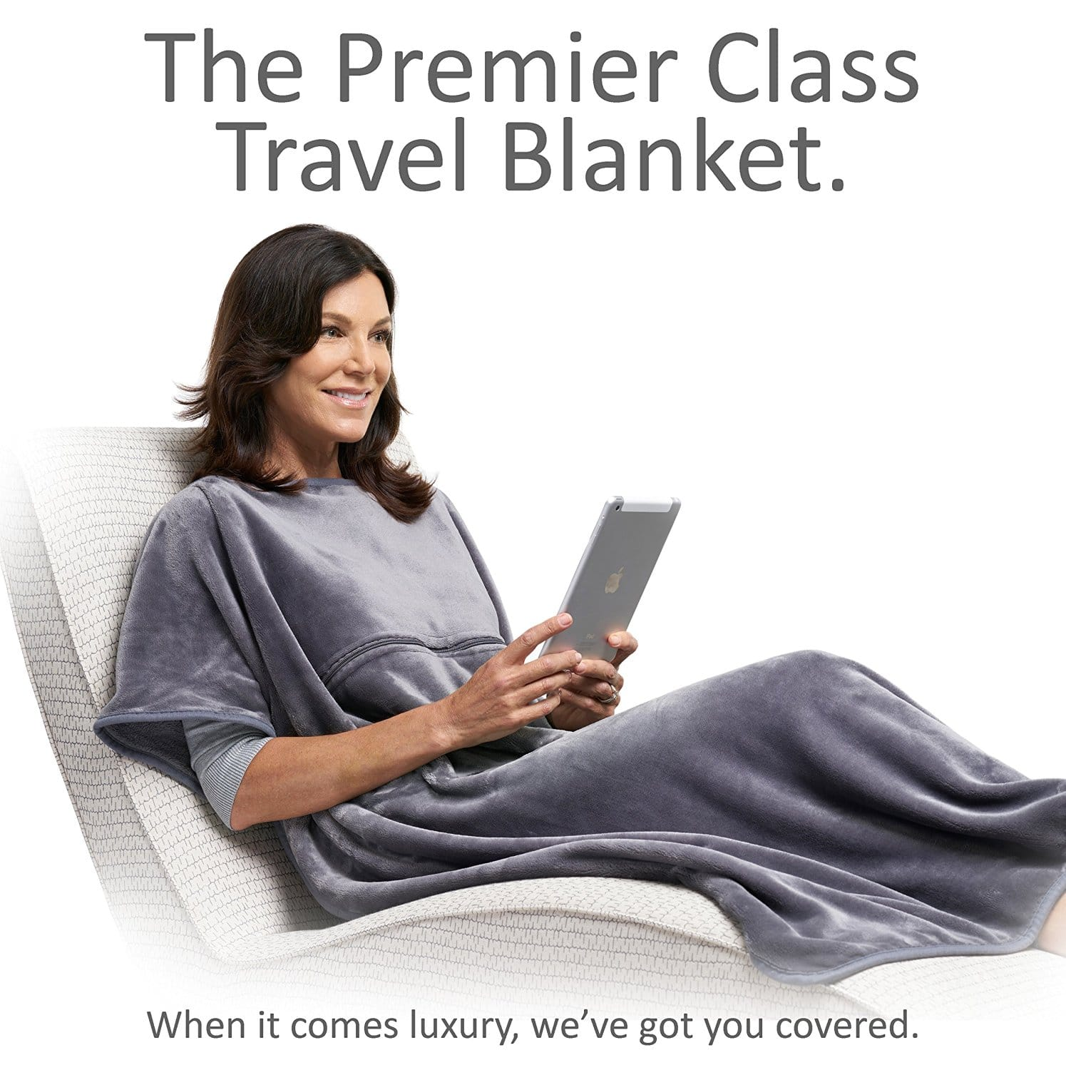 Chic Travel Blanket