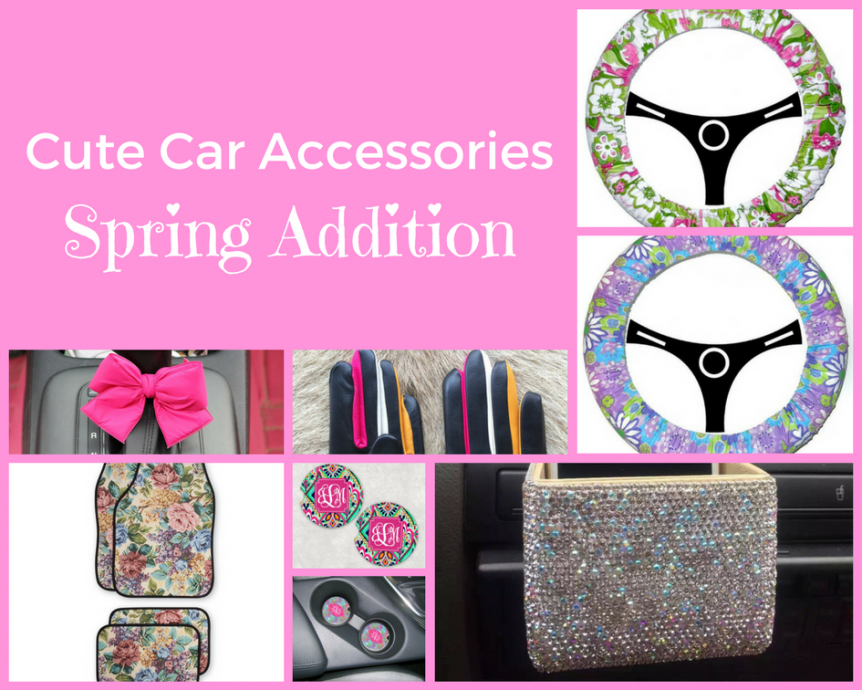 Cute car accessories spring