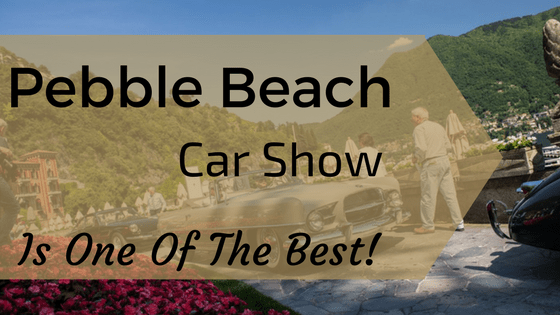 pebble beach car show