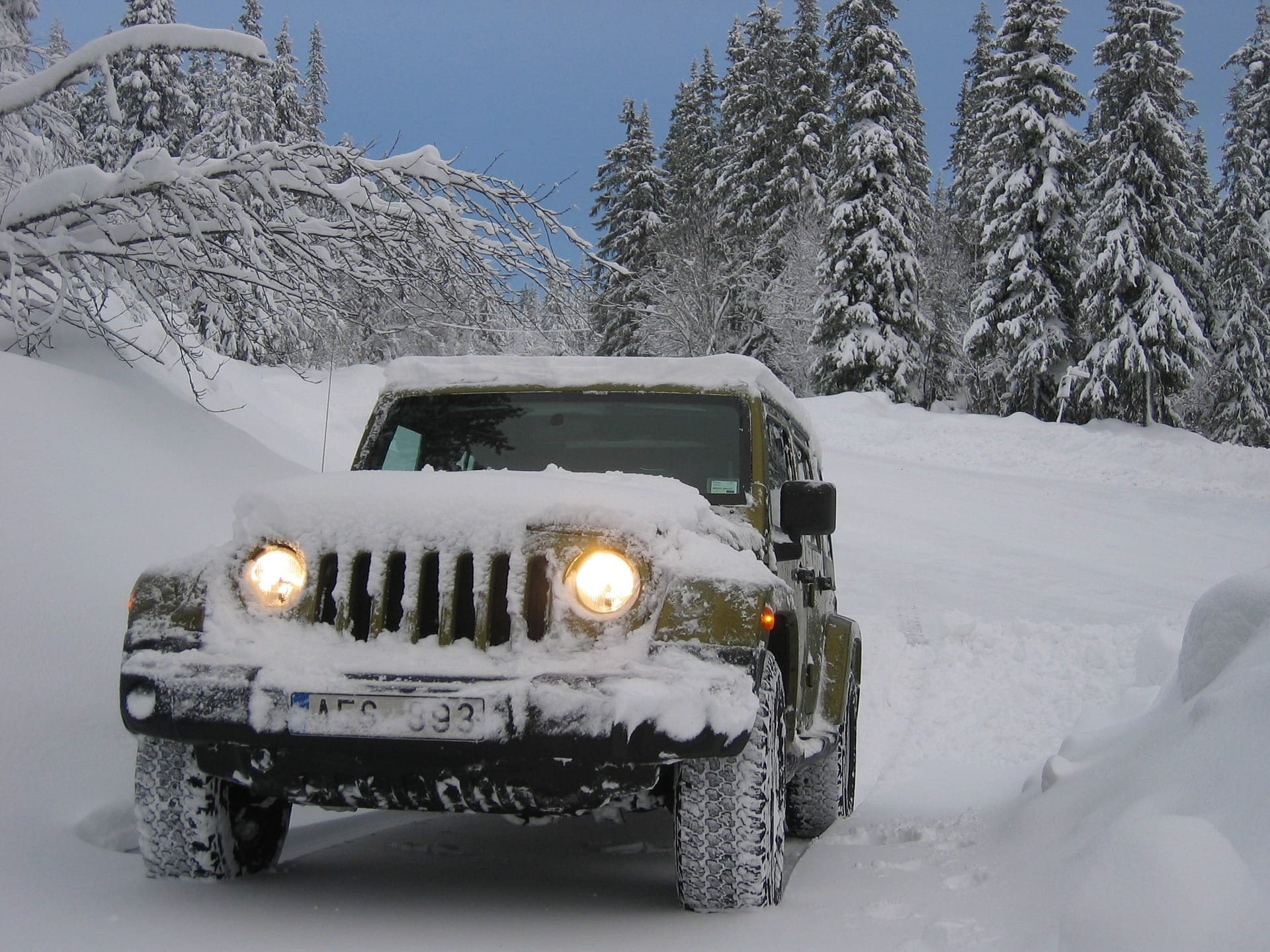 jeep snow tires
