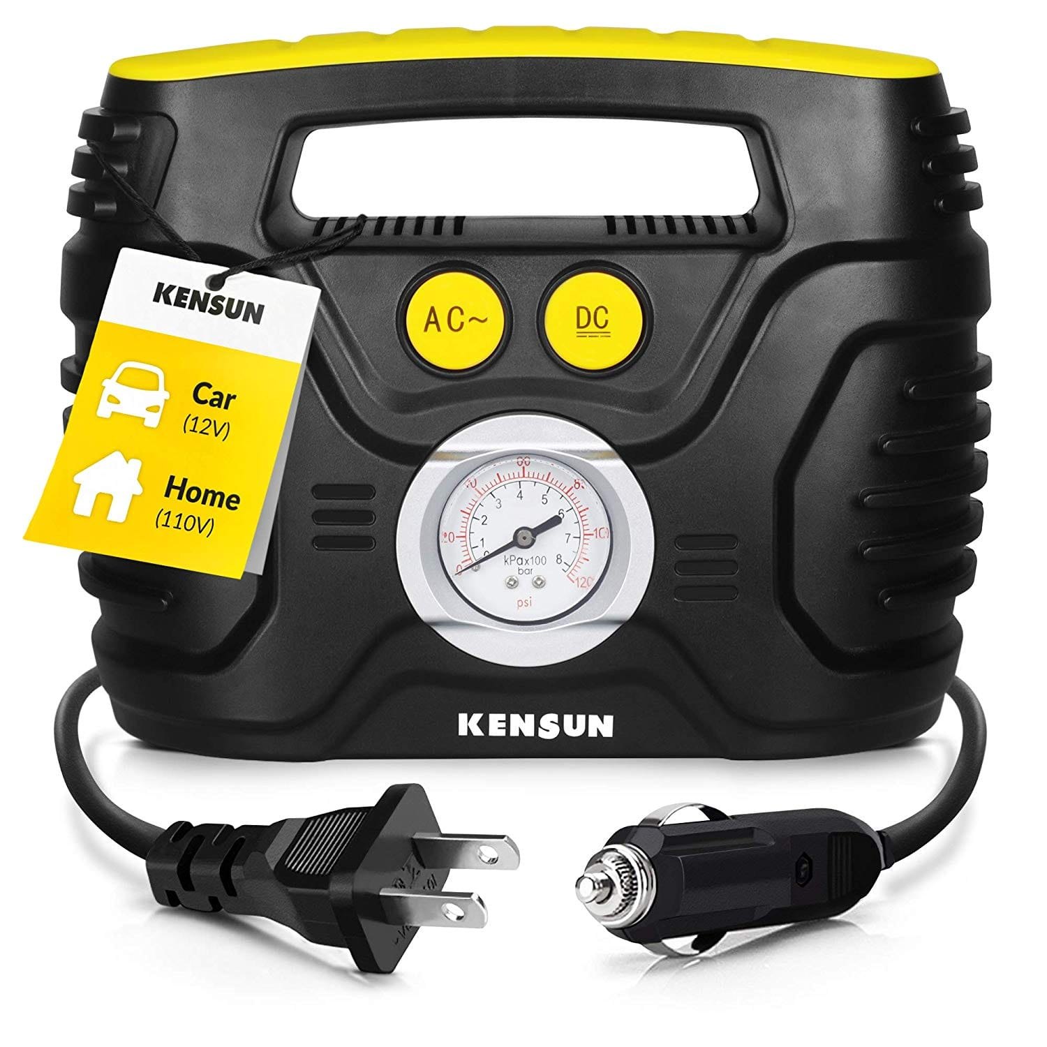 Car Tire Inflator Where To Buy, Kensun Portable Air Compressor Pump, Car Tire Inflator Where To Buy